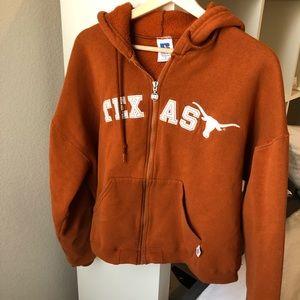 Tops - Cropped Texas Hoodie